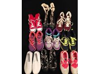 9 pairs shoes/boots
