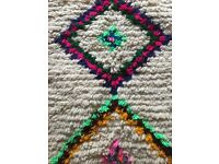 Most gorgeous Azilal rug for sale - contact me now and it can be with you this weekend!