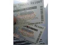 X2 alton towers tickets