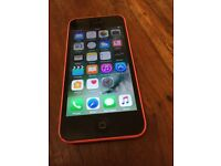 iPhone 5c on EE pink