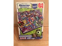 Monsters University 2 in 1 Ludo and Snakes & Ladders