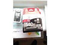 Black Ink cartridge for Canon 540 XL capacity. Bargain.