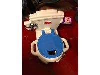 Fisher Price Potty Seat - plays music