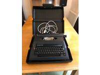 Electric typewriter for sale