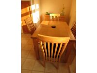 ABINGDON dining table & chairs