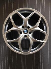 4 x BMW X4 X5 X6 Range Rover VW T5 Brand new 20 inch Shadow Chrome Alloy Wheels