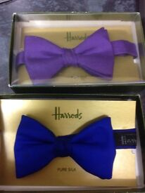 A selection of designer bow ties