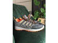 Blackrock Workwear Steel Toe Safety Protective Hiker Trainer Shoes Size 8