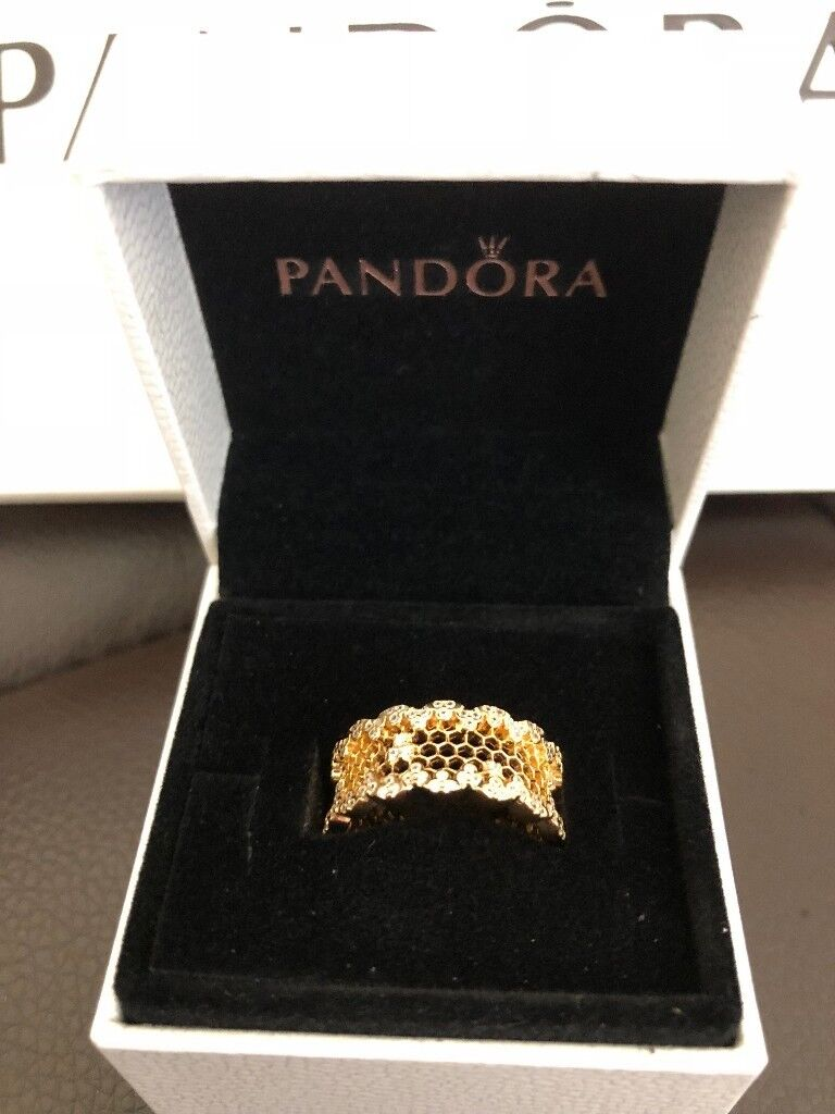 153a3c285 Pandora Honeycomb Lace Ring | in Leicester, Leicestershire | Gumtree