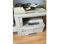 Olivetti d-Copia photocopier and stand.