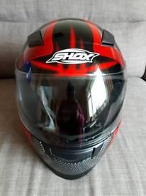 Shox Skar motor bike helmet