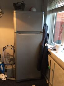 Large fridge freezer in silver