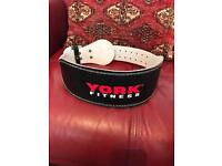 bodybuilding leather belt size medium