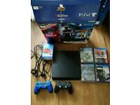 Ps4 1Tb hardly used plus more