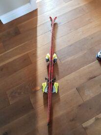 Kids 130 blizzard super light skis