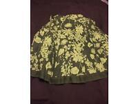 Monsoon skirt (green)