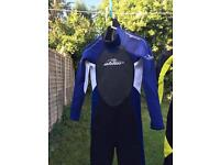 Age 10 and size XL boys wetsuit