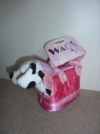 Brand New With Tags Keel Toys Wags Bags