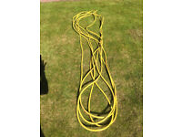good quality garden hose (roughly 25 metres)