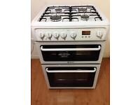 60cm Hotpoint double oven cooker