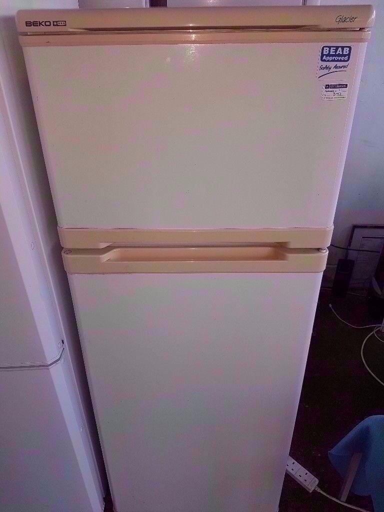 Beko White Colour Fridge Freezer