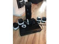 Panasonic home theatre surround sound DVD player system