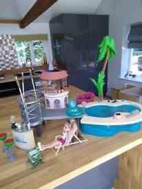 Bratz doll swimming pool