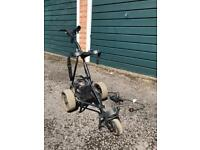 Power caddy golf trolley