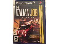 Play Station 2 The Italian Job L.A. Heist aged 3 +