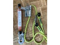 Absailing equipment