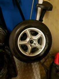 BME X5 alloy wheel