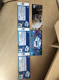 3 x summertime ball tickets