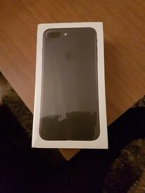 Apple iPhone 7 PLUS unopened, fully sealed, EE, 32gb Matte Black