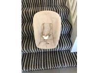 Stokke newborn chair for trip trapp