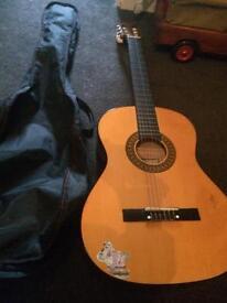SOLD!!!!Junior Acoustic Guitar + carry case