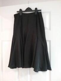 Black size 8 coast skirt