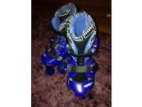 Boys skates size 12-2 adjustable straps
