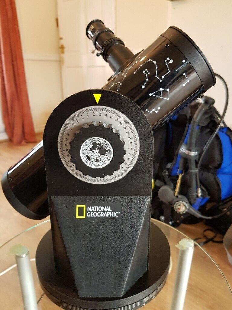 Dobson National Geographic Telescope | in Billingham, County Durham |  Gumtree