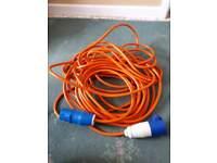 Caravan or Motorhome Electric Hook Up Cable