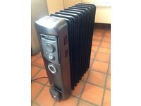 Dimplex oil heater - charcoal colour