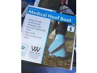 Woof Wear Medicine Boot - Size 5 - Never Worn