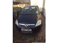 Vauxhall Zafira Life black 1.8 litre petrol semi-automatic for sale!