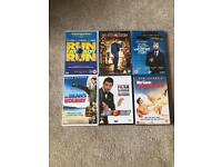 Comedy DVD's Mr Bean's Holiday Night At The Museum Bruce Almighty Johnny English
