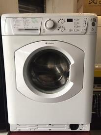 Hotpoint white good looking 7kg 1400spin washing machine