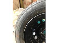 New car wheel