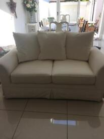 Ikea cream coloured 2 seater sofa