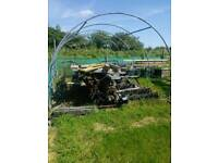 Polytunnel frame only