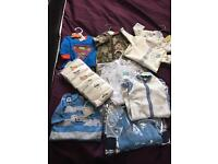 BRAND NEW boy clothes - Newborn