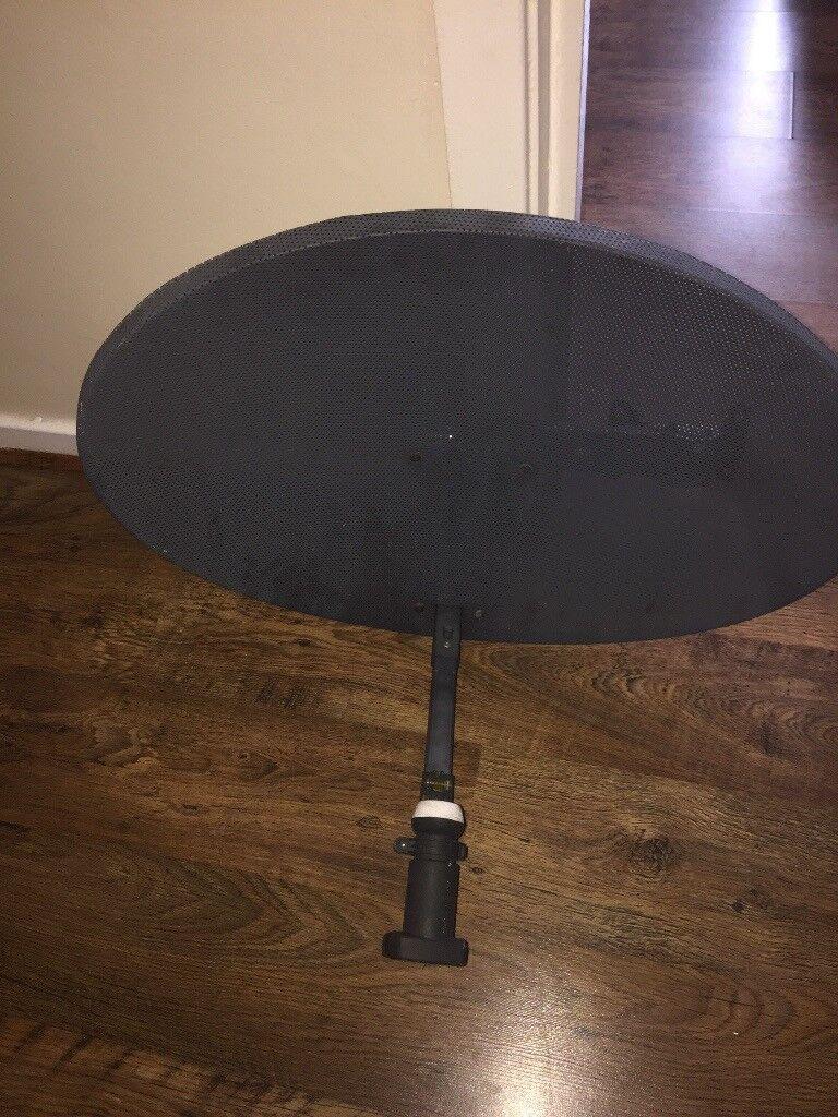 Satellite dish medium size