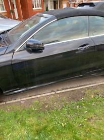Mercedes E class coupe door